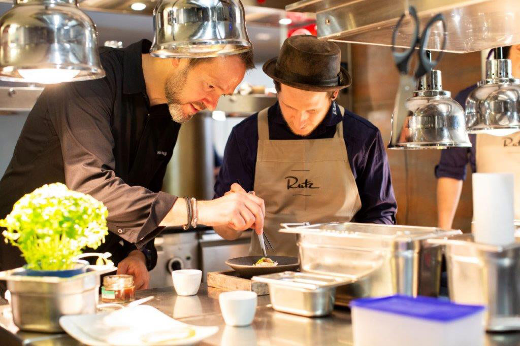 Rutz Restaurant Küche